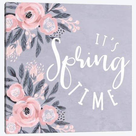 It's Spring Time Canvas Print #DWD28} by Dogwood Portfolio Canvas Art Print