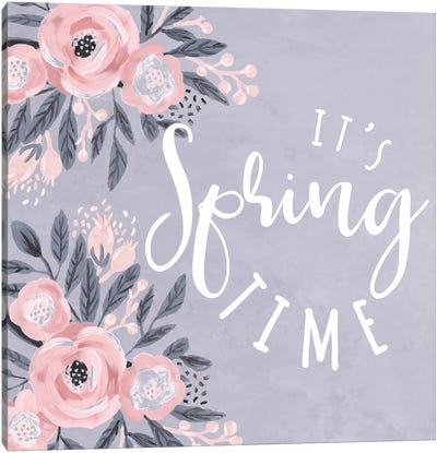 It's Spring Time Canvas Art Print