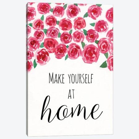 Make Yourself at Home Canvas Print #DWD36} by Dogwood Portfolio Art Print