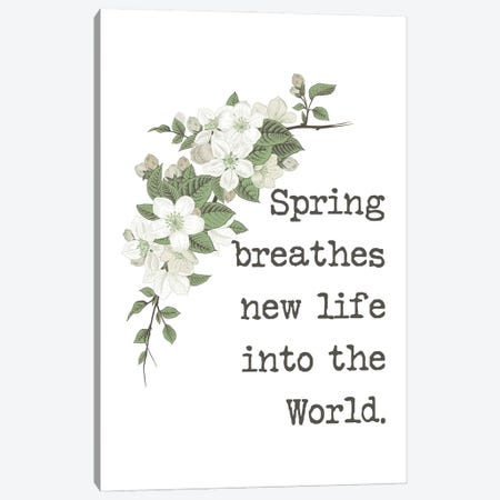 New Life in Spring Canvas Print #DWD37} by Dogwood Portfolio Canvas Print