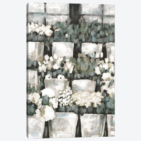 Rows of Flowers Canvas Print #DWD41} by Dogwood Portfolio Canvas Art Print