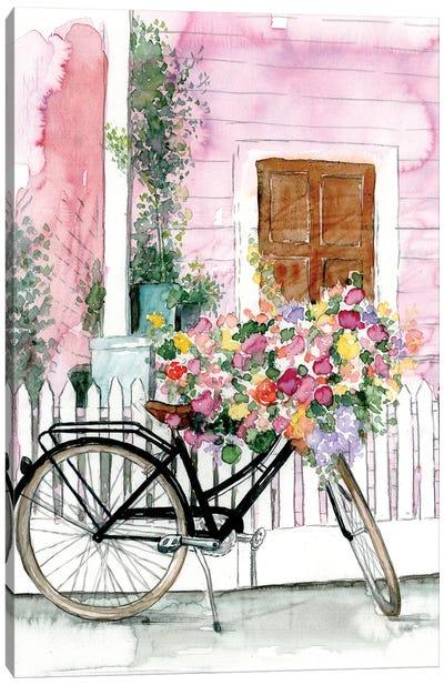 Spring Bike Ride Canvas Art Print