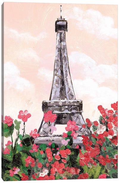Flower Tower Canvas Art Print