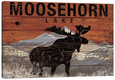 Moosehorn Lake Canvas Art Print