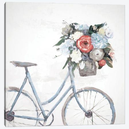 Bicycle Reflections Canvas Print #DWD5} by Dogwood Portfolio Canvas Artwork
