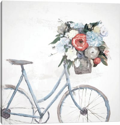 Bicycle Reflections Canvas Art Print