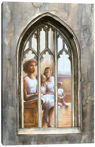 Sunday Meeting Canvas Art Print
