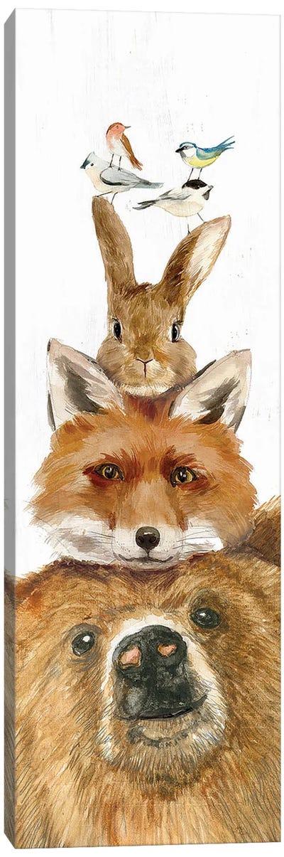 Woodland Friends Canvas Art Print