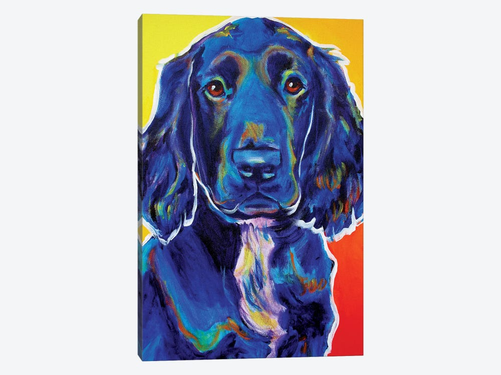 Otis by DawgArt 1-piece Canvas Print