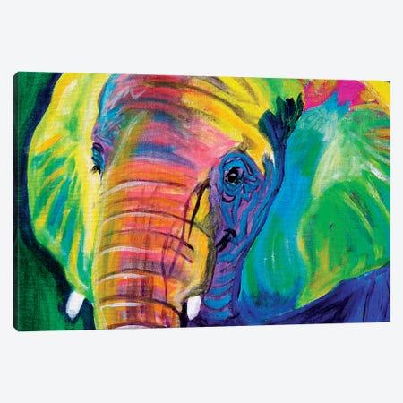 Pachyderm Canvas Print #DWG104} by DawgArt Canvas Artwork
