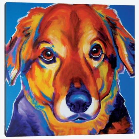 Riley Canvas Print #DWG114} by DawgArt Art Print