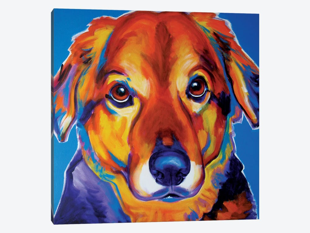 Riley by DawgArt 1-piece Canvas Print