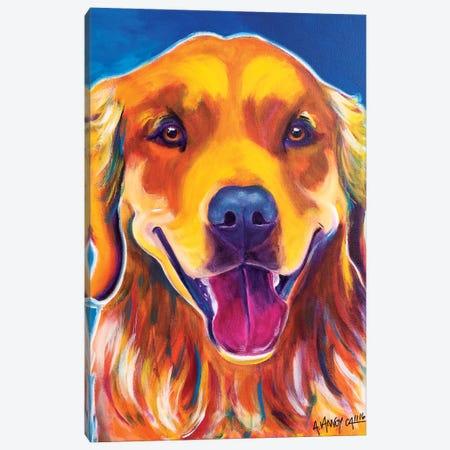 Rory Canvas Print #DWG116} by DawgArt Canvas Print