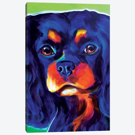 Saffy Canvas Print #DWG121} by DawgArt Canvas Print