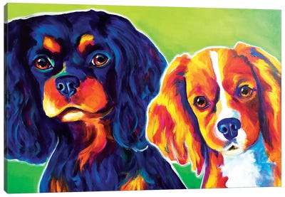 Saffy And Duck Canvas Art Print