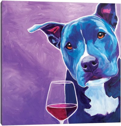Shakti With Wine Canvas Art Print
