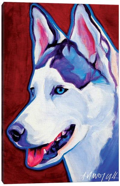 Siberian Husky Canvas Print #DWG125