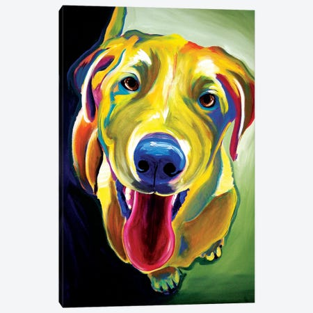 Spencer Canvas Print #DWG127} by DawgArt Canvas Wall Art
