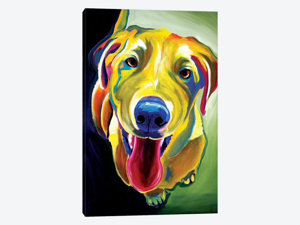 Spencer by DawgArt 1-piece Canvas Art Print