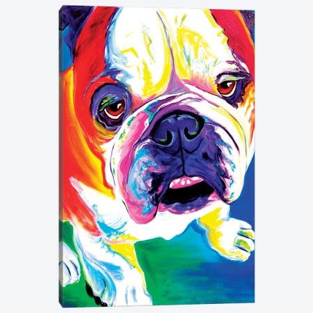 Stanley Canvas Print #DWG129} by DawgArt Canvas Print