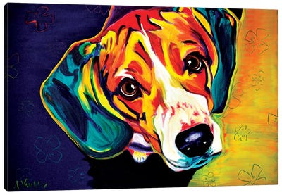 Beagle Bailey Canvas Art Print
