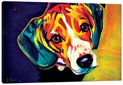 Beagle Bailey Canvas Art Print