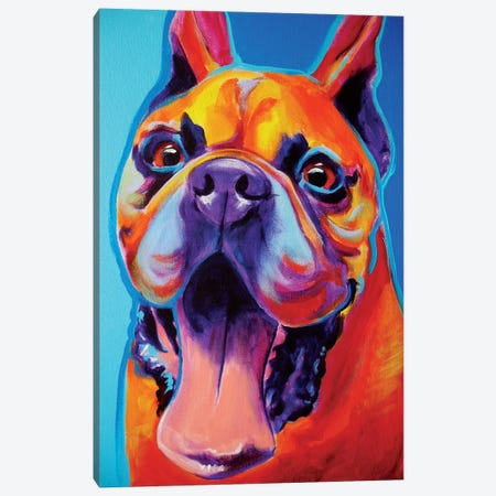 Tyson Canvas Print #DWG137} by DawgArt Canvas Print
