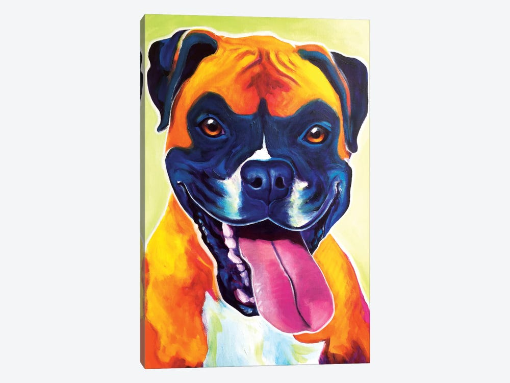 Bear The Boxer by DawgArt 1-piece Canvas Artwork