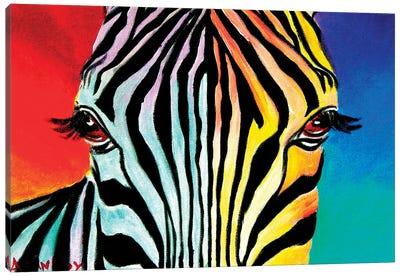 Zebra Canvas Print #DWG143