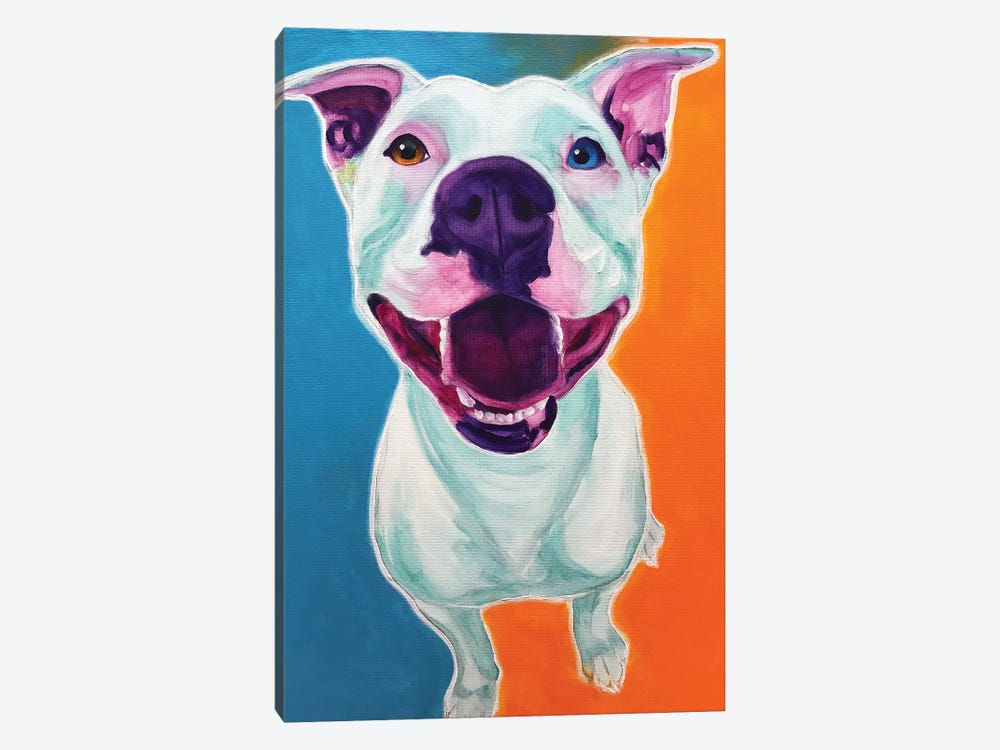 Angel The Pit Bull 1-piece Canvas Art
