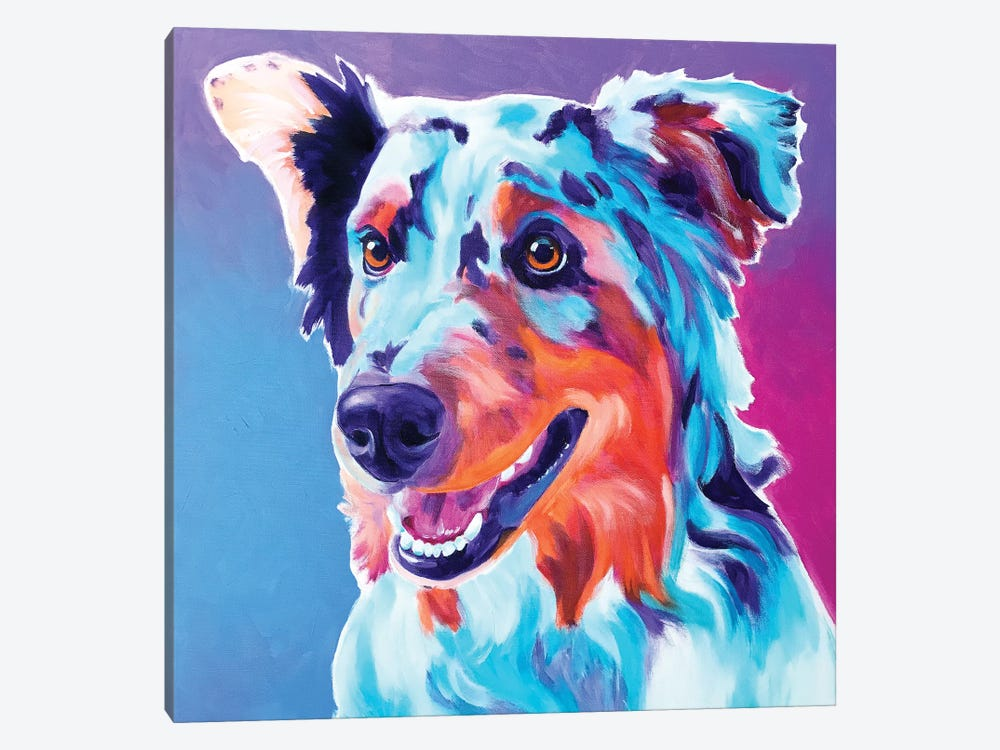 Pepper The Aussie 1-piece Canvas Artwork