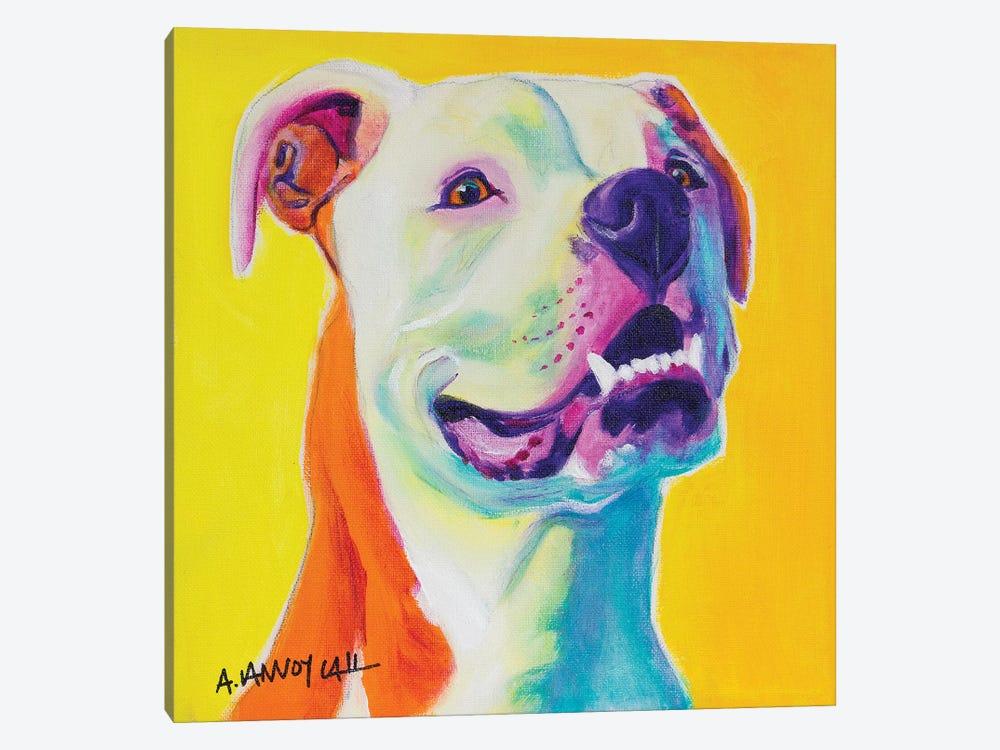 George by DawgArt 1-piece Canvas Art Print