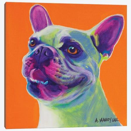 Jerry Canvas Print #DWG197} by DawgArt Canvas Art Print