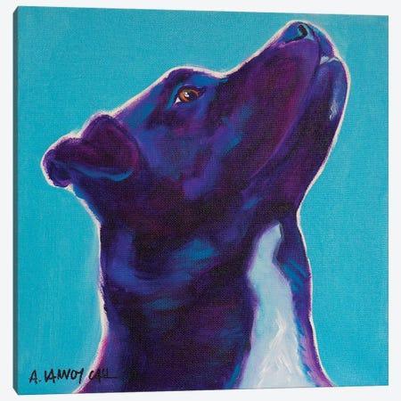 Tux Canvas Print #DWG198} by DawgArt Canvas Art