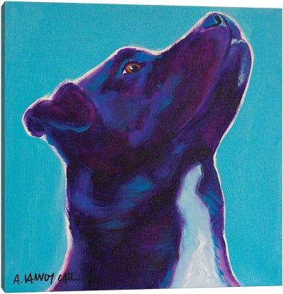 Tux Canvas Art Print