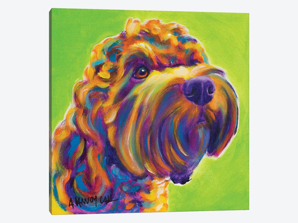 Benny the Cockapoo by DawgArt 1-piece Canvas Art