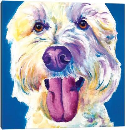 Hank The Doodle Canvas Art Print