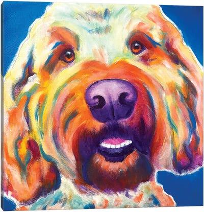Larry The Doodle Canvas Art Print