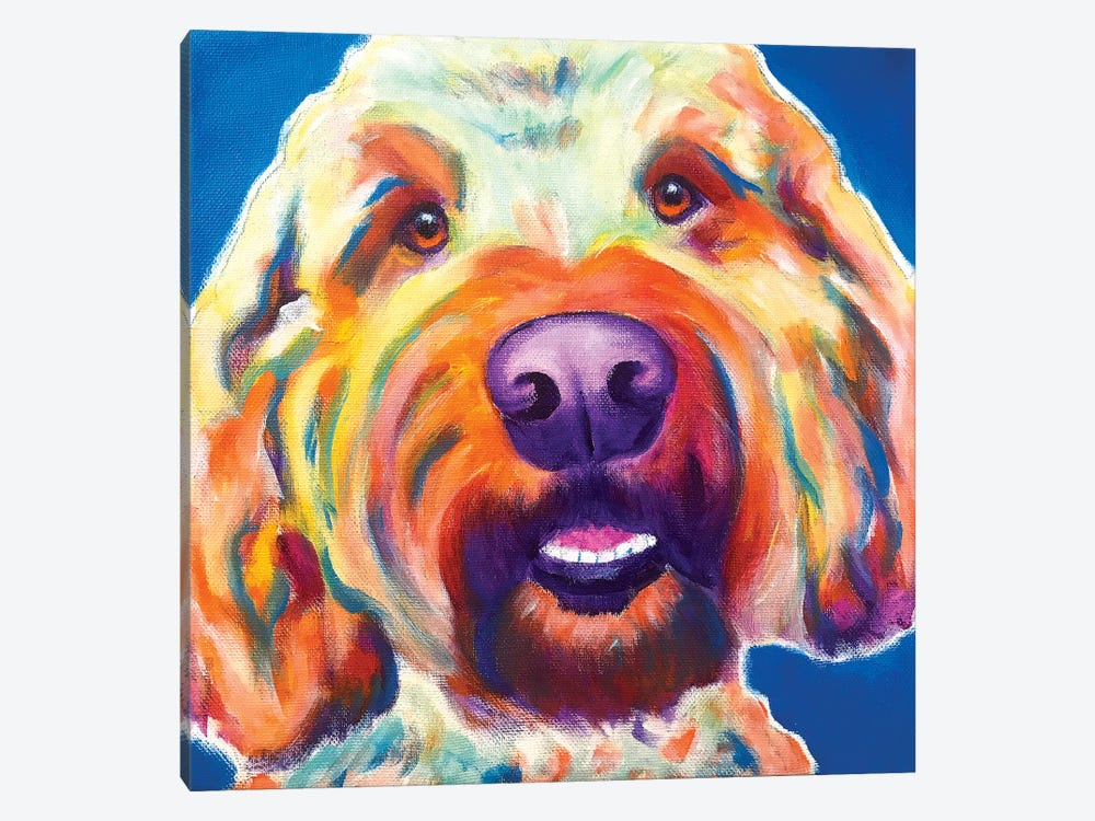 Larry The Doodle by DawgArt 1-piece Art Print