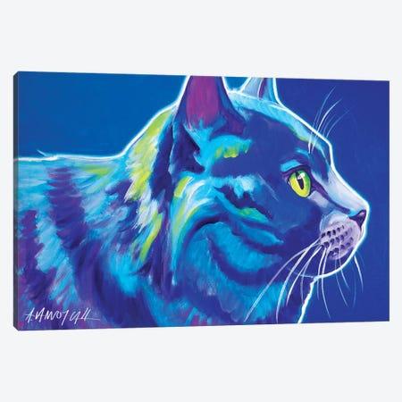 Blue Boy Canvas Print #DWG20} by DawgArt Canvas Wall Art
