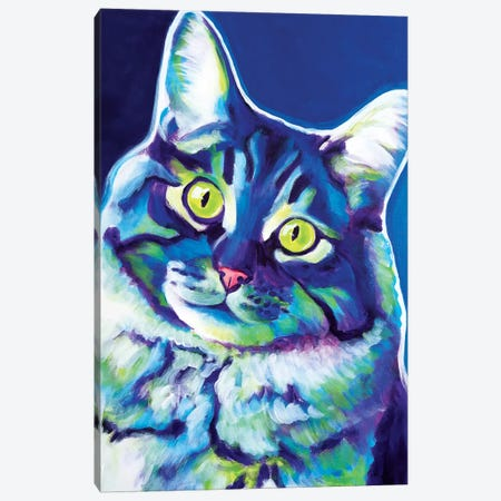 Alphonse Canvas Print #DWG2} by DawgArt Canvas Artwork