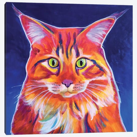 Cosmo Canvas Print #DWG41} by DawgArt Canvas Art