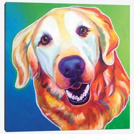 Daisy Mae Canvas Print #DWG44} by DawgArt Art Print