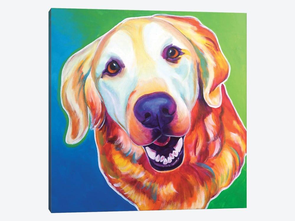 Daisy Mae by DawgArt 1-piece Canvas Art