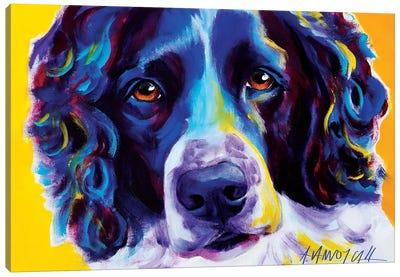 Emma The English Springer Spaniel Canvas Art Print