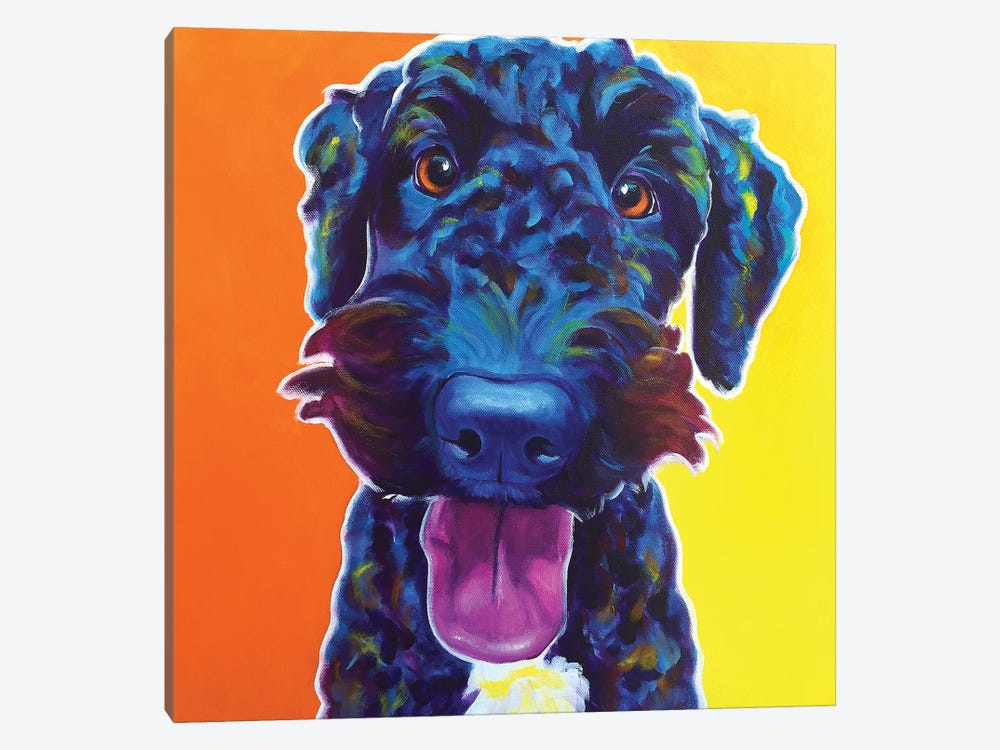 Fletcher by DawgArt 1-piece Canvas Art