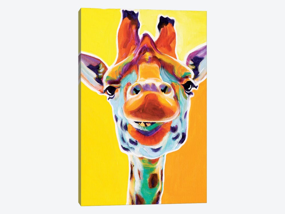 Giraffe III by DawgArt 1-piece Canvas Art