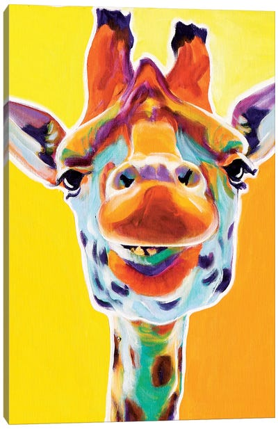 Giraffe III Canvas Art Print
