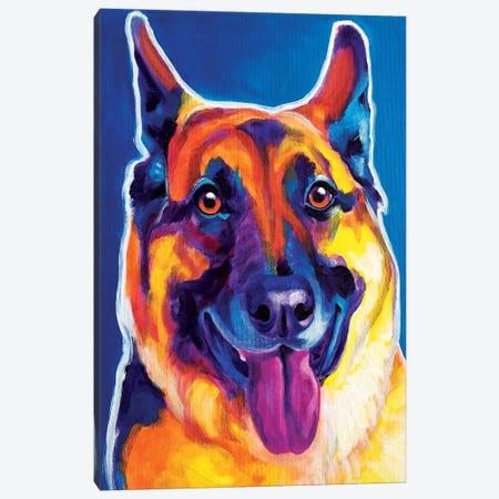Hector Canvas Print #DWG68} by DawgArt Canvas Art