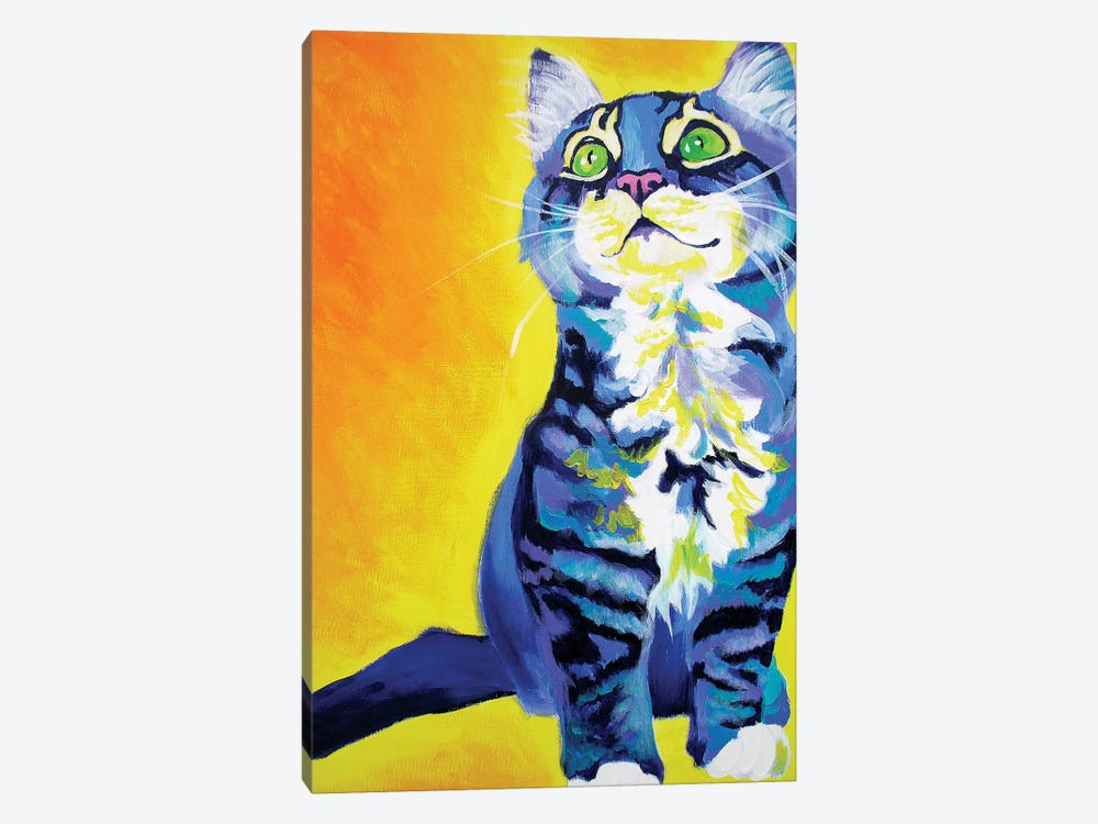 Here Kitty Kitty by DawgArt 1-piece Art Print
